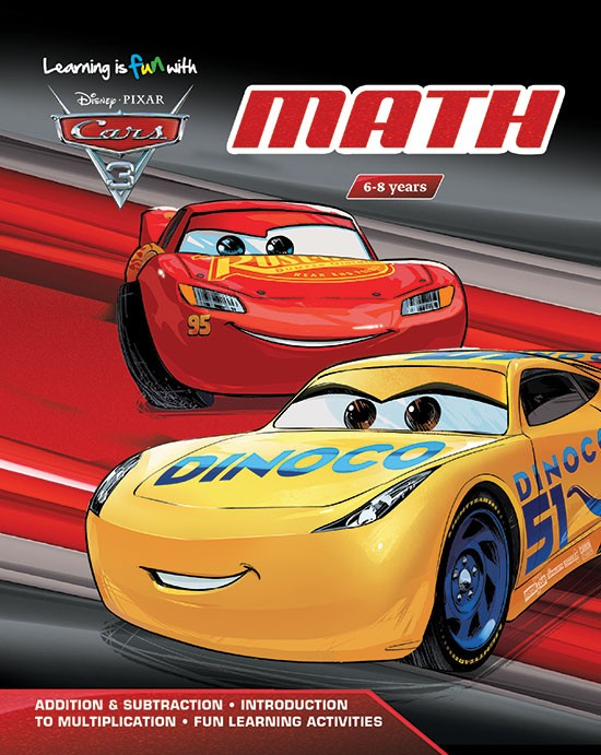 Learning is fun with Cars 3