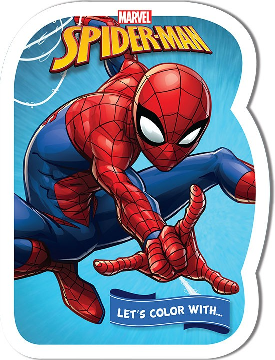 Let's color with... SPIDER-MAN