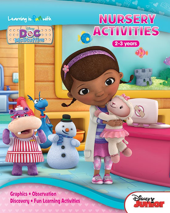 Learning is fun with Doc McStuffins